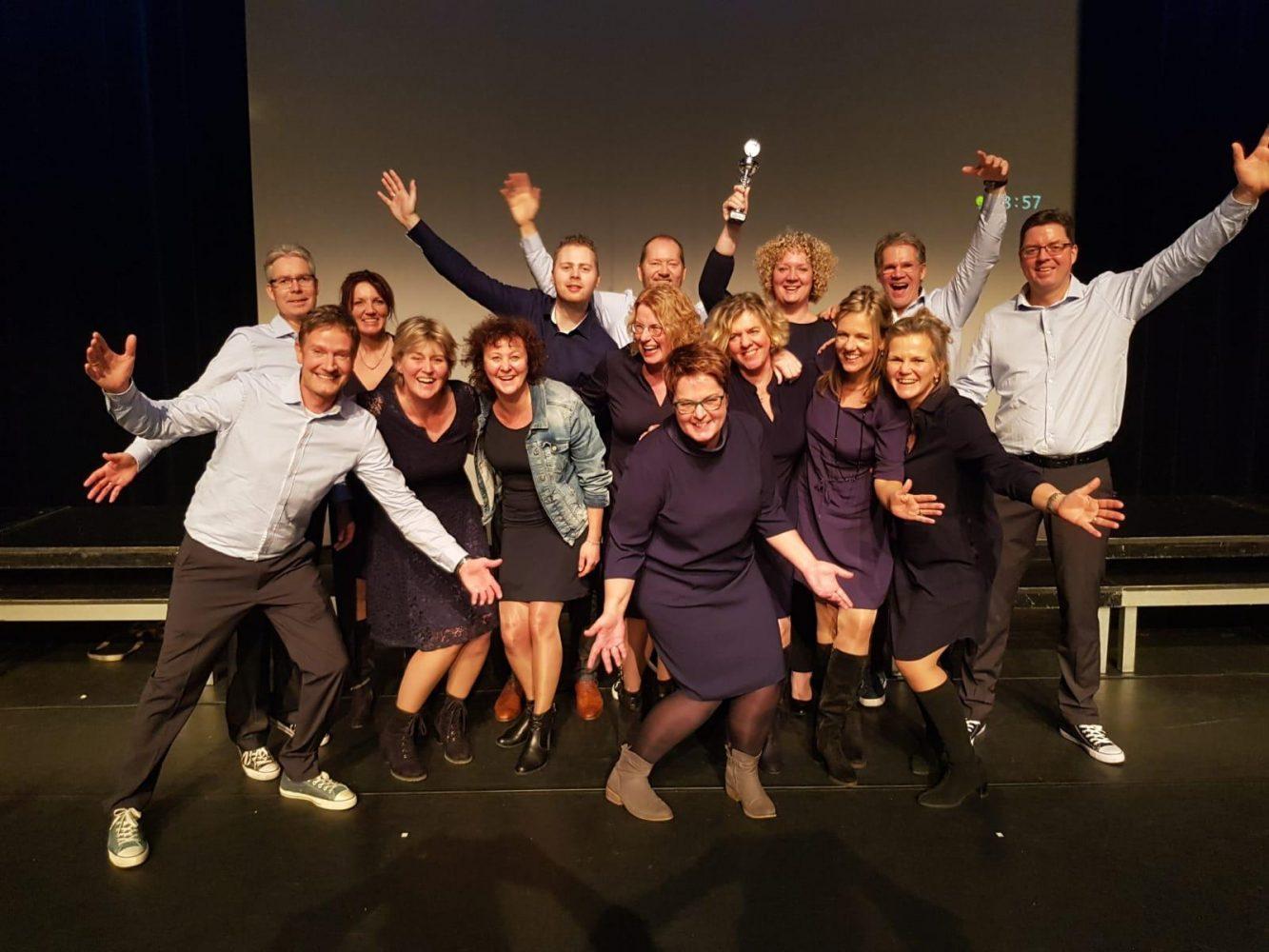 Winnaar korenfestival Steenwijk 2 februari 2019